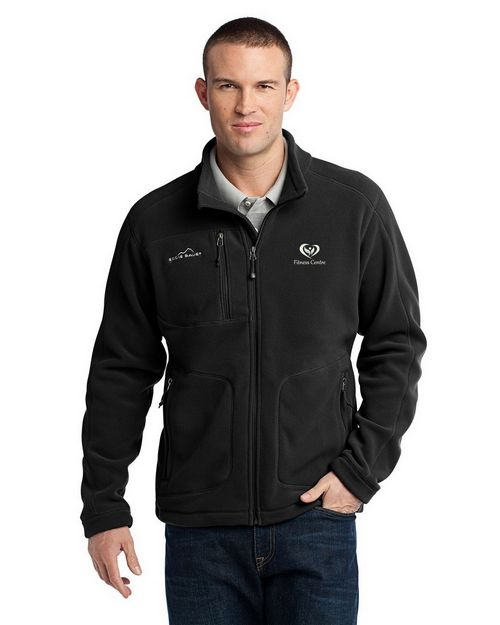 Eddie Bauer EB230 Wind Resistant Full Zip Fleece Jacket