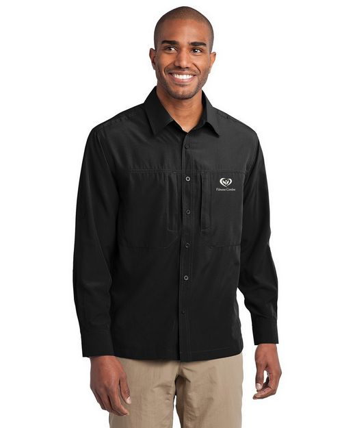 Eddie Bauer EB604 Long Sleeve Performance Travel Shirt