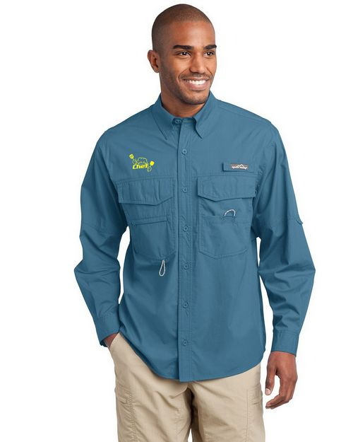 Eddie Bauer EB606 Long Sleeve Fishing Shirt