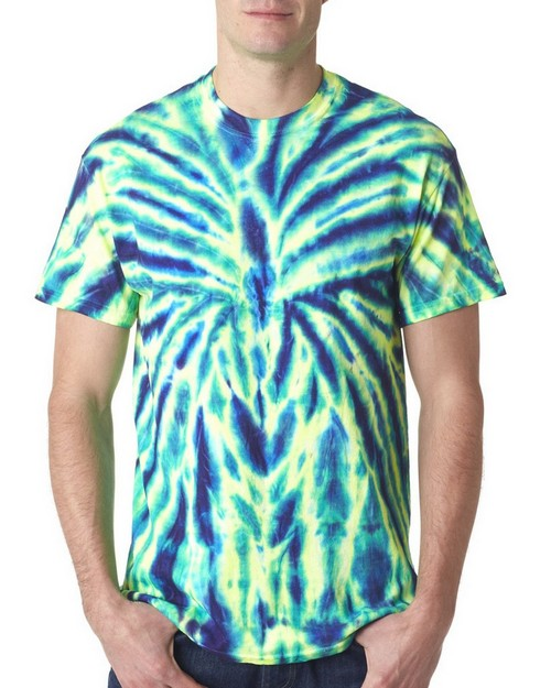 Gildan Tie-Dyes 93 Adult Cotton Spider Tee