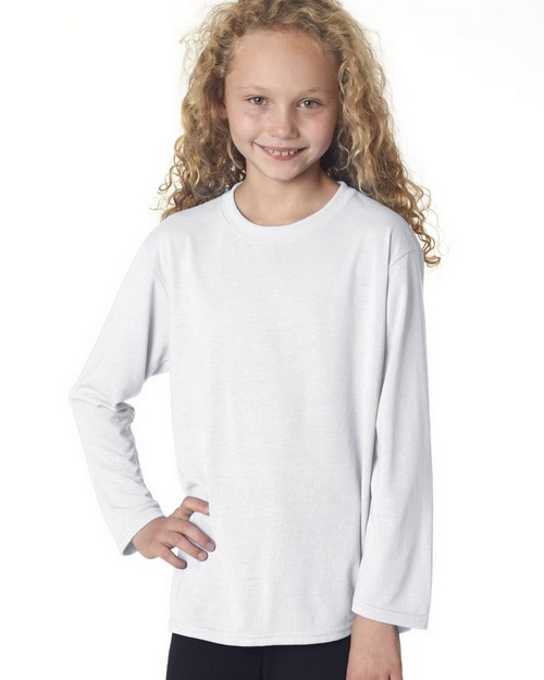 Gildan 42400B Youth Core Performance Long Sleeve T Shirt