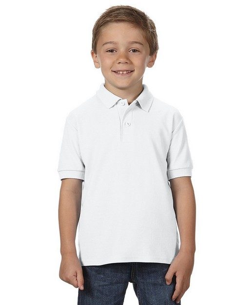 Gildan G728B DryBlend Youth Double Pique Sport Shirt