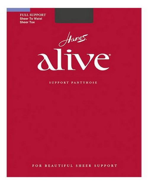 Hanes 00811 Alive Sheer to Waist Pantyhose