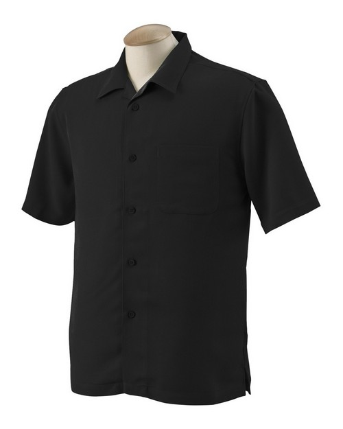 Harriton M570 Mens Bahama Cord Camp Shirt