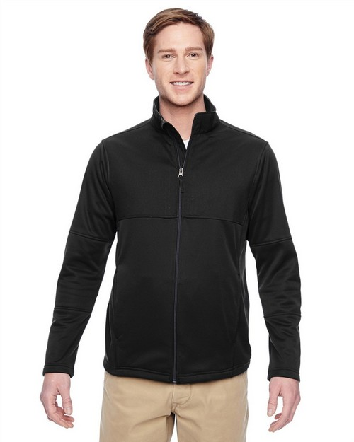 Harriton M745 Mens Task Performance Fleece Full-Zip Jacket