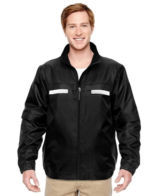 Harriton M770 Mens Fleece Lined All Season Jacket