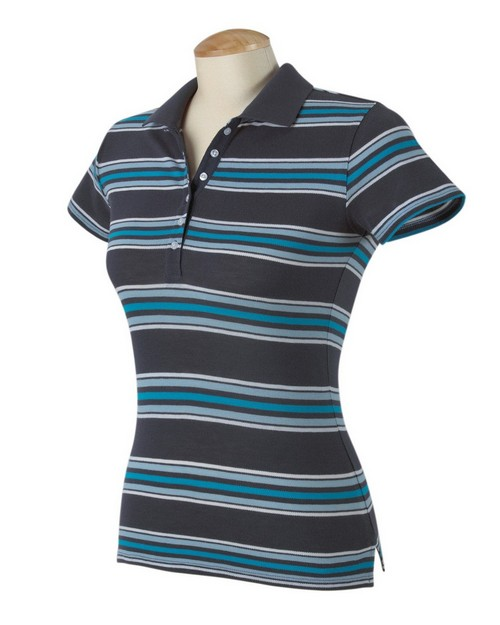 Hyp HY123 3.5 oz. Newport Sheer Cotton Pique Polo in Solid or Stripe