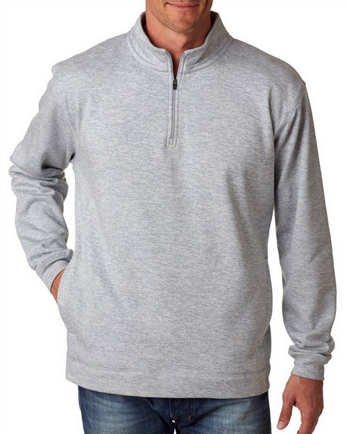 J America J8614 J.America Adult Cosmic 1/4-Zip Fleece