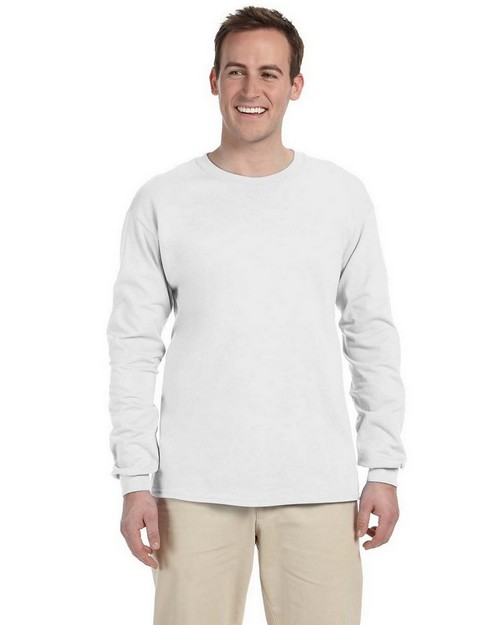 Jerzees 363L 5.6 oz. HiDENSI-T Cotton Long-Sleeve T-Shirt