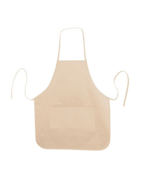 Liberty Bags LB5505 Heather NL2R Long Round Bottom Cotton Twill Apron