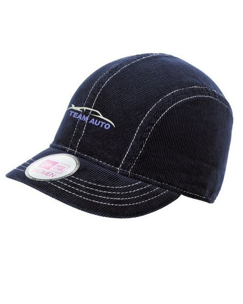 New Era NE500 Women's Corduroy Short Bill Cap