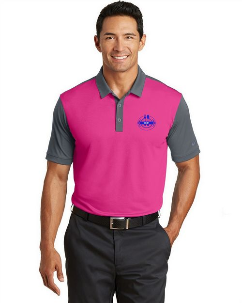 Nike Golf 746101 Dri-FIT Colorblock Icon Polo