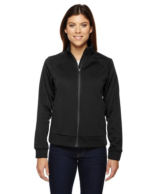 North End Sport Red 78660 Ladies' Evoke Bonded Fleece Jacket