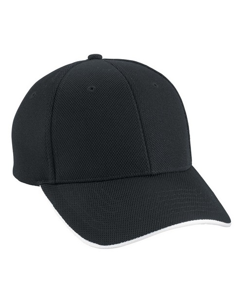 North End 45008 Performance Pique Sandwich Cap