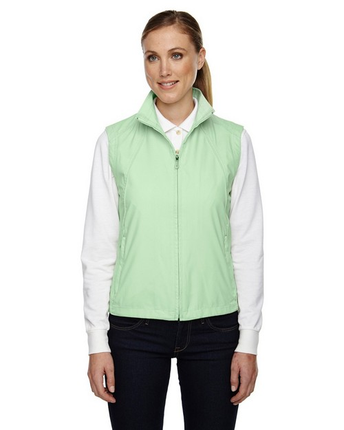 North End 78051 Ladies Full Zip Lightweight Windvest
