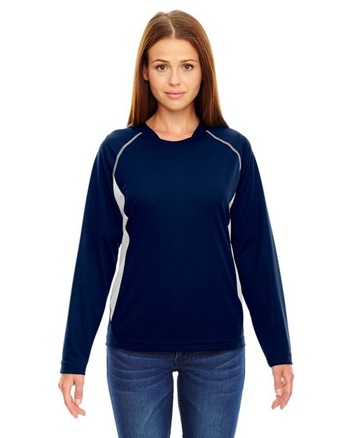 North End 78079 Ladies Athletic Long Sleeve Sport Top
