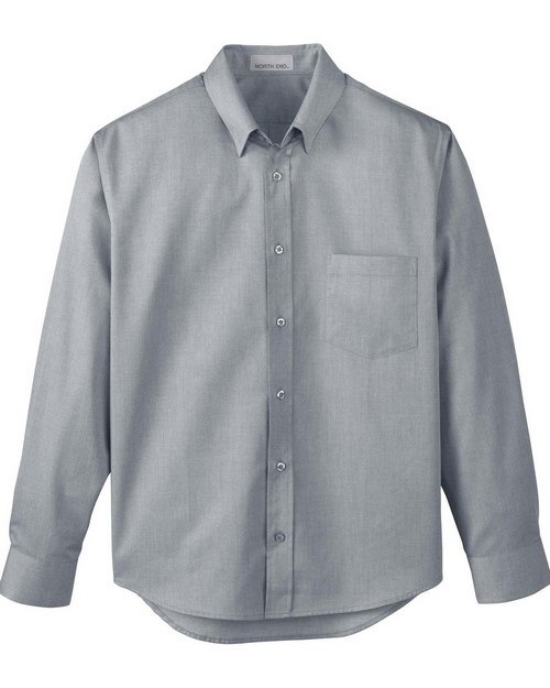 North End 87036 Mens Yarn Dyed Wrinkle Resistant Dobby Shirt