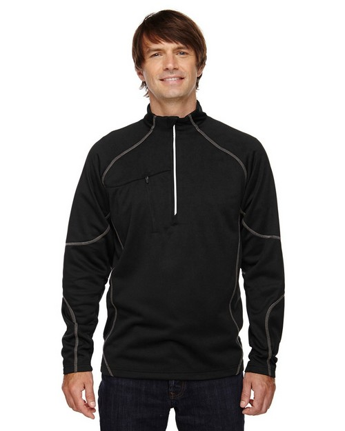 North End 88175 Catalyst Mens Performance Fleece Half-Zip Top