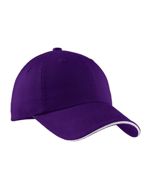 Port Authority C830 Sandwich Bill Cap