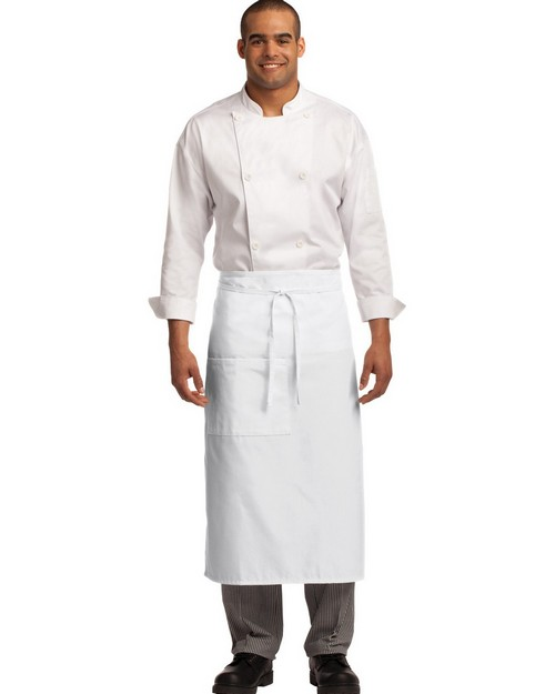 Port Authority A701 Easy Care Full Bistro Apron with Stain Release