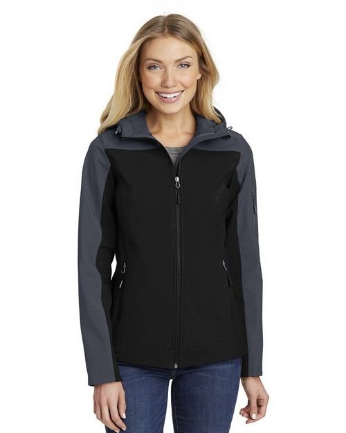 Port Authority L335 Ladies Hooded Core Soft Shell Jacket