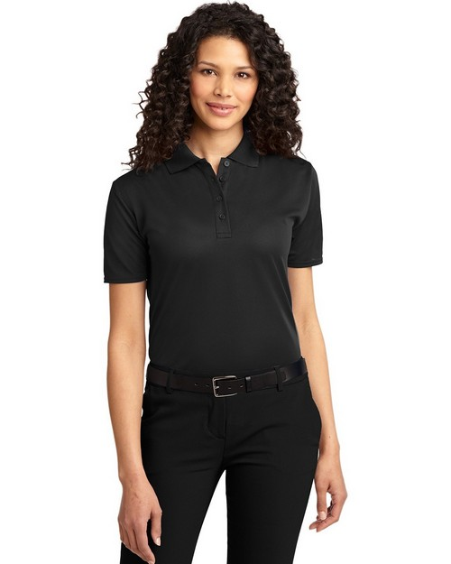 Port Authority L525 Ladies Dry Zone Ottoman Polo