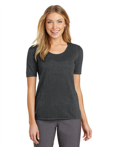 Port Authority LSW291 Ladies Scoop Neck Sweater