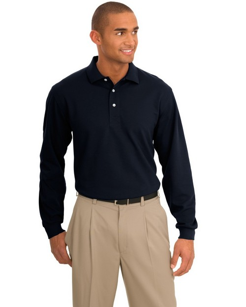 Port Authority TLK455LS Tall Rapid Dry Long Sleeve Polo