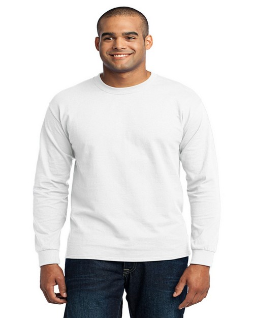 Port & Company PC55LS Long Sleeve 50/50 Cotton/Poly T-Shirt