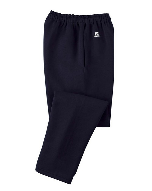 Russell Athletic 596HBM Dri-Power Open-Bottom Fleece Pocket Pant
