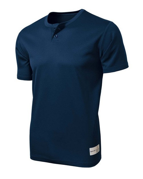 Sport-Tek ST215 PosiCharge Tough Mesh Henley by Port Authority