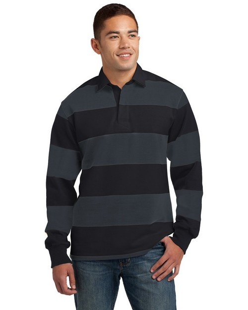 Sport-Tek ST300 Long Sleeve Rugby Polo by Port Authority