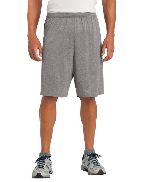 Sport-Tek ST365 Heather Contender Short by Port Authority