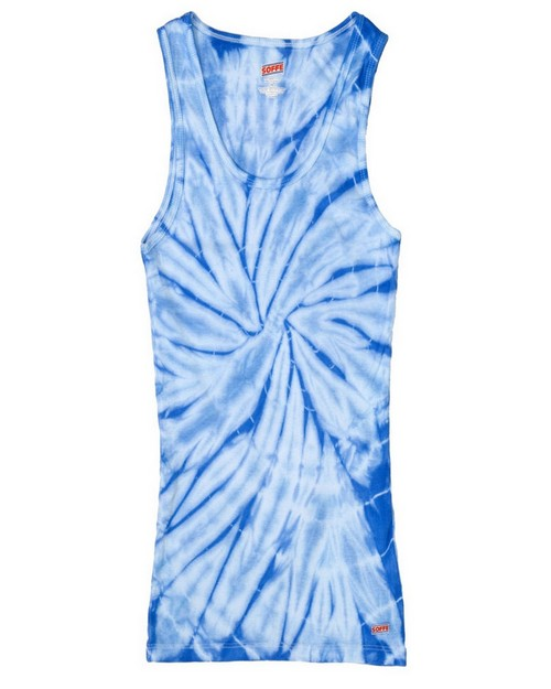 Tie-Dye H3000b 100% Cotton Youth Soffe Tank Tops