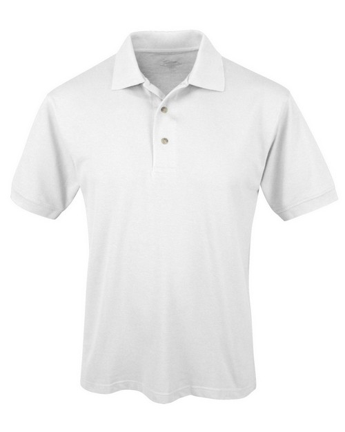 Tri-Mountain 095 Men's Easy care short sleeve pique golf shirt