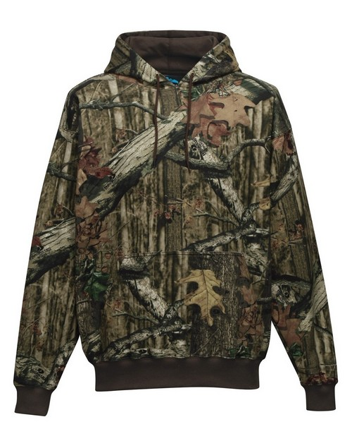 Tri-Mountain 689C 80/20 hooded sweatshirt with Realtree APÉ pattern
