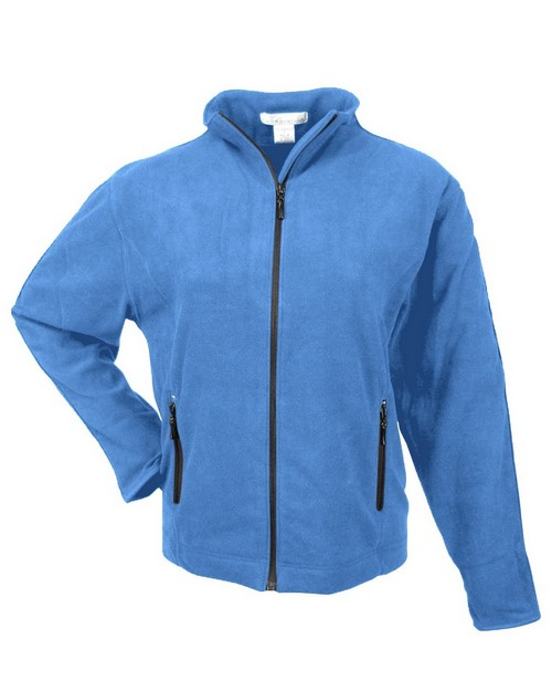 Tri-Mountain 7220 Women's micro fleece jacket with trim