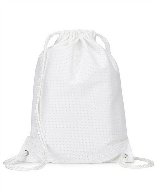 Ultraclub 8895 Jersey Mesh Drawstring Sport Pack